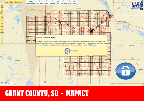 1st distict mapnet grant mapnet grant mapnet the official mapping application for grant county sd sciox Gallery