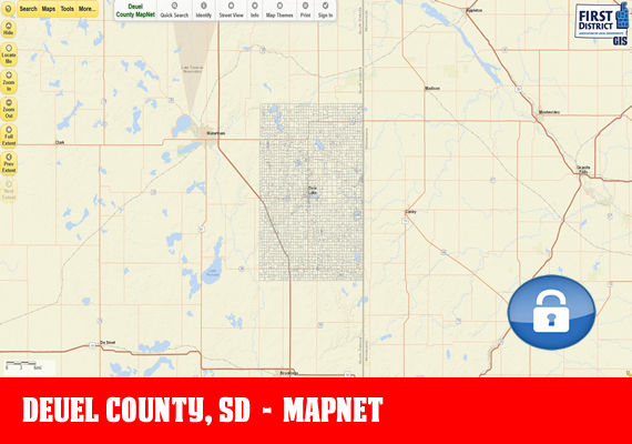 Deuel MapNet - The official mapping application for Deuel County, SD